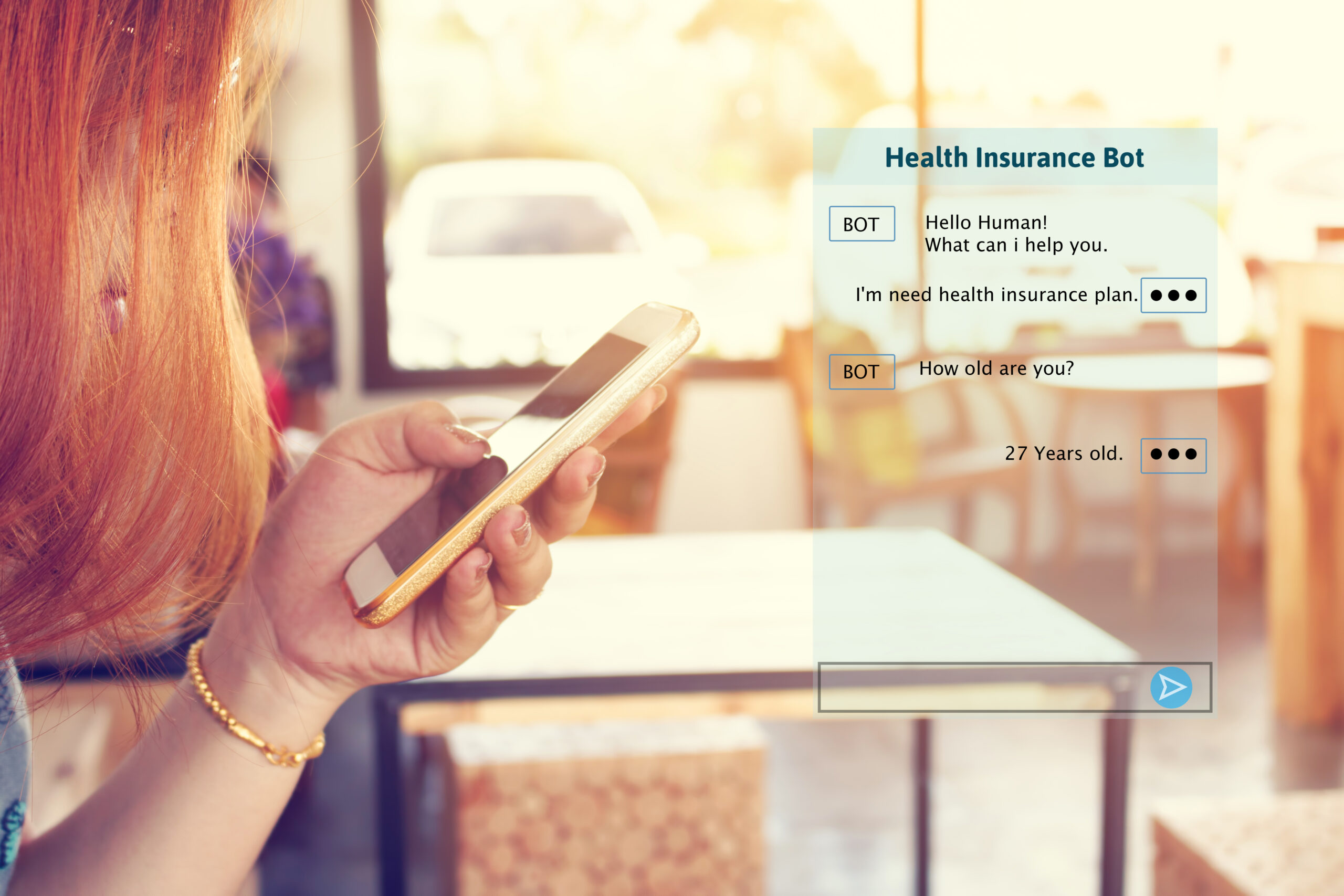 AI insurance chatbots optimizing the customer experience Home